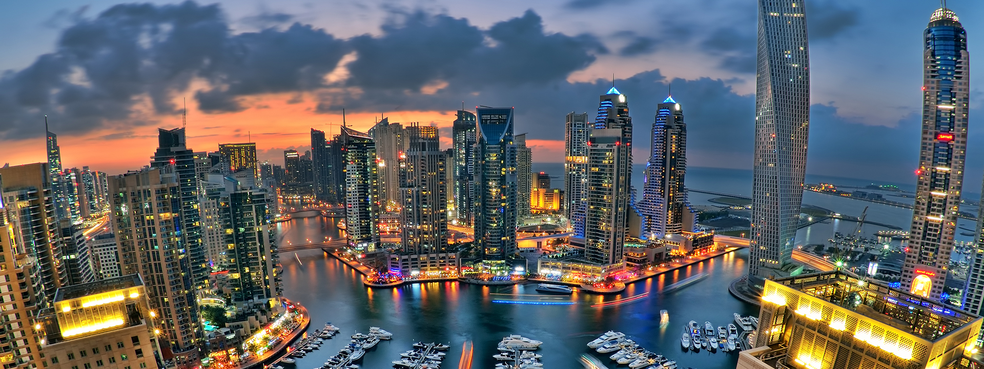 Global Touch - Dubai's Marina